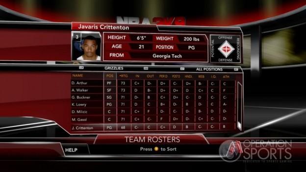 NBA 2K9 Screenshot #119 for Xbox 360