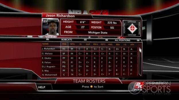 NBA 2K9 Screenshot #135 for Xbox 360