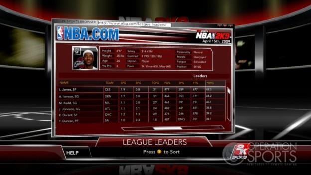 NBA 2K9 Screenshot #146 for Xbox 360