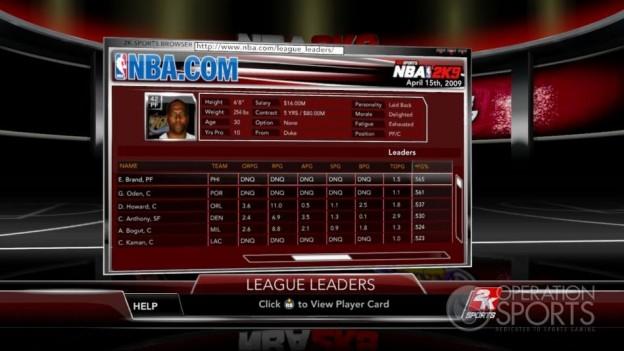 NBA 2K9 Screenshot #149 for Xbox 360