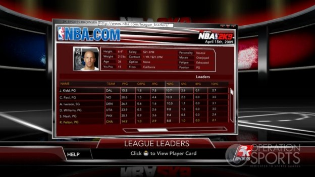 NBA 2K9 Screenshot #153 for Xbox 360