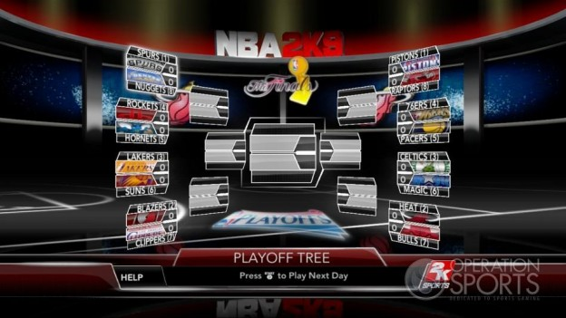 NBA 2K9 Screenshot #157 for Xbox 360