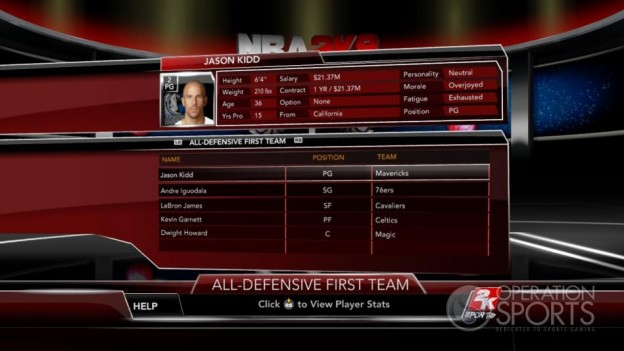 NBA 2K9 Screenshot #161 for Xbox 360