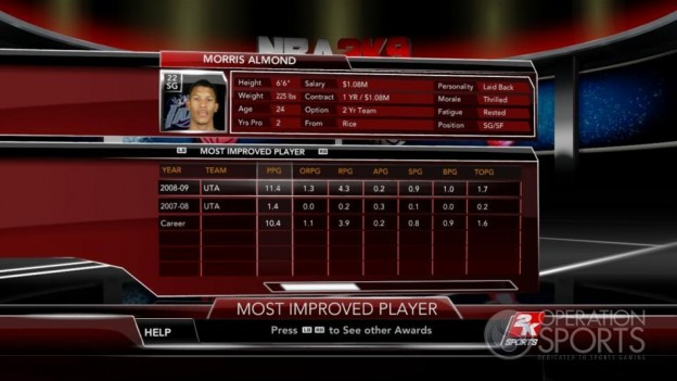 NBA 2K9 Screenshot #163 for Xbox 360