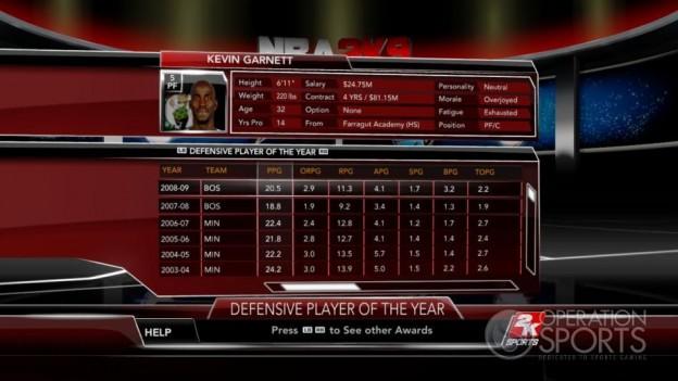 NBA 2K9 Screenshot #164 for Xbox 360