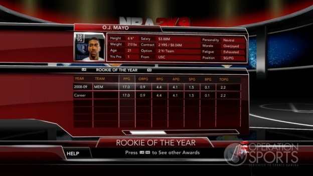 NBA 2K9 Screenshot #166 for Xbox 360