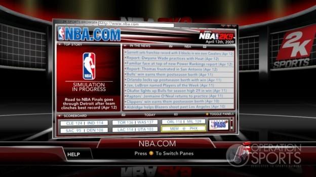 NBA 2K9 Screenshot #168 for Xbox 360