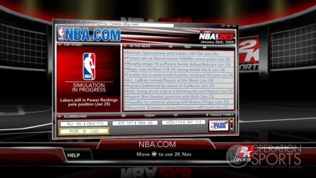 NBA 2K9 Screenshot #176 for Xbox 360