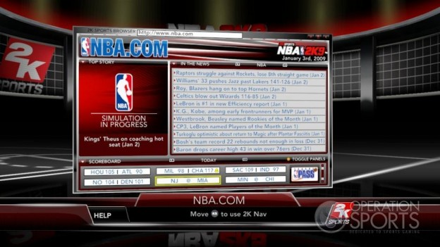 NBA 2K9 Screenshot #178 for Xbox 360