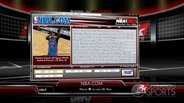 NBA 2K9 Screenshot #182 for Xbox 360