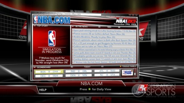 NBA 2K9 Screenshot #183 for Xbox 360