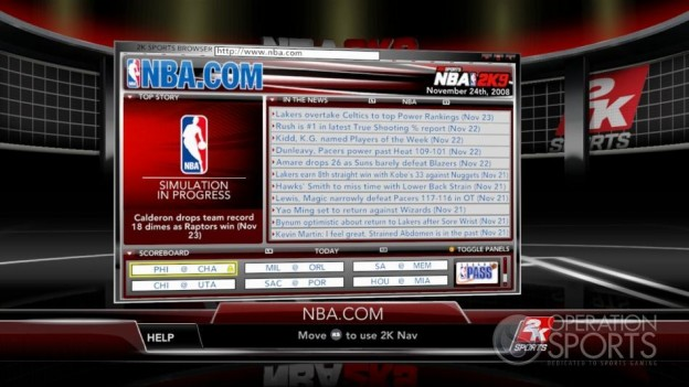 NBA 2K9 Screenshot #184 for Xbox 360