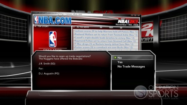 NBA 2K9 Screenshot #185 for Xbox 360