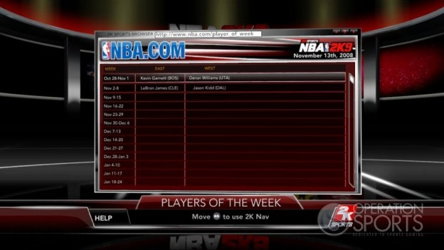 NBA 2K9 Screenshot #186 for Xbox 360