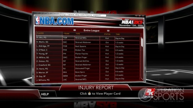 NBA 2K9 Screenshot #187 for Xbox 360