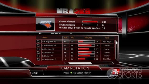 NBA 2K9 Screenshot #200 for Xbox 360