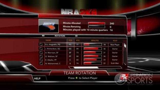 NBA 2K9 Screenshot #200 for Xbox 360