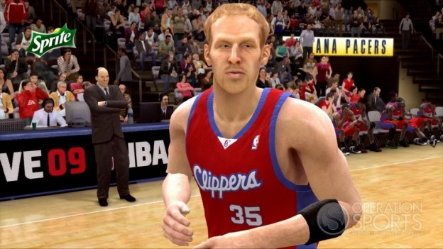 NBA Live 09 Screenshot #95 for Xbox 360