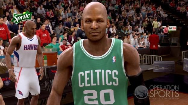 NBA Live 09 Screenshot #125 for Xbox 360