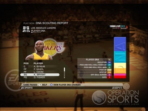 NBA Live 09 Screenshot #176 for Xbox 360