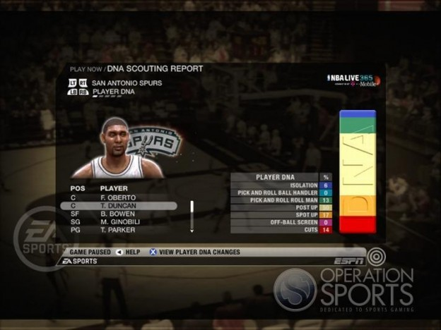 NBA Live 09 Screenshot #178 for Xbox 360