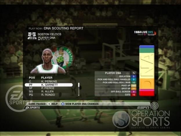 NBA Live 09 Screenshot #181 for Xbox 360