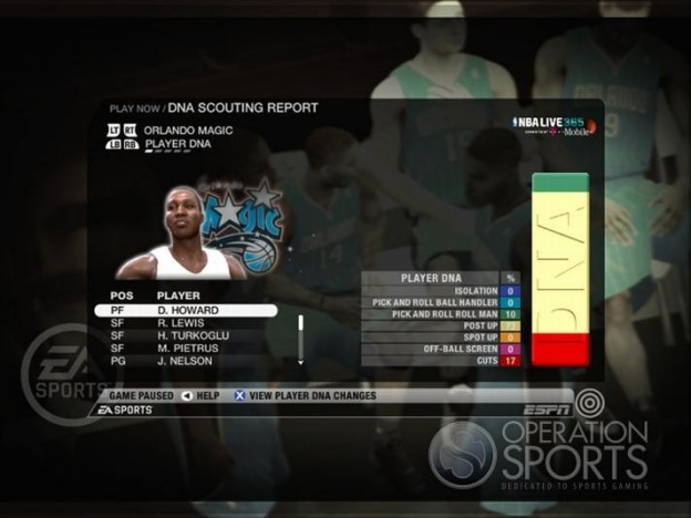 NBA Live 09 Screenshot #183 for Xbox 360