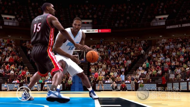 NBA Live 09 Screenshot #184 for Xbox 360