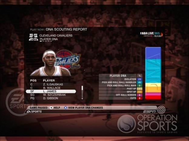 NBA Live 09 Screenshot #185 for Xbox 360