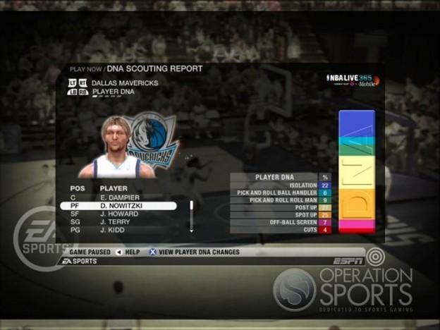NBA Live 09 Screenshot #188 for Xbox 360