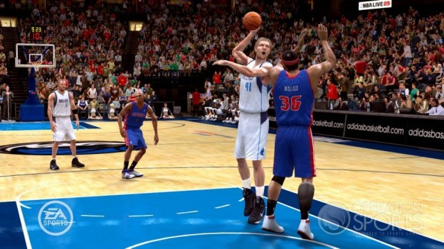 NBA Live 09 Screenshot #189 for Xbox 360