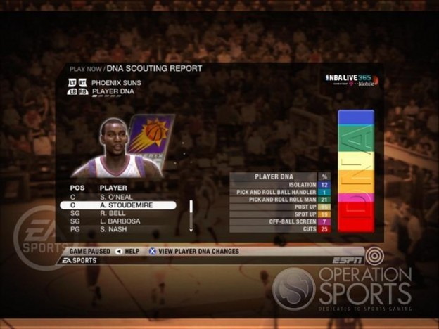 NBA Live 09 Screenshot #193 for Xbox 360