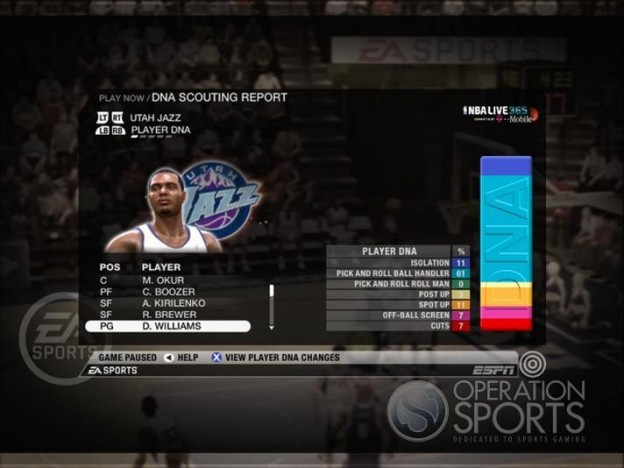 NBA Live 09 Screenshot #194 for Xbox 360