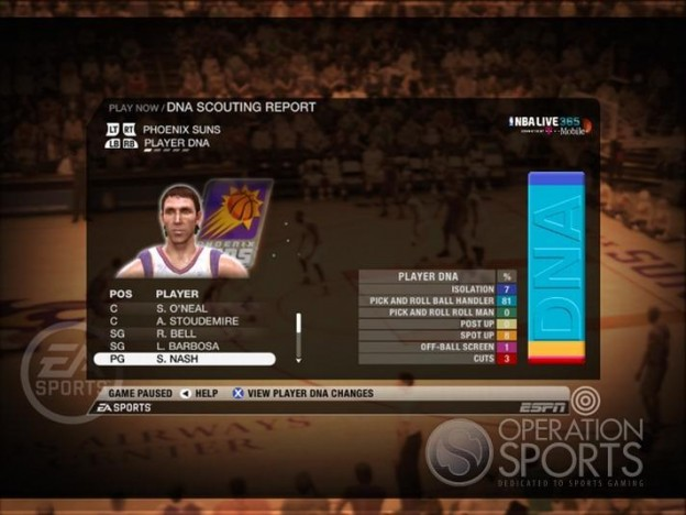 NBA Live 09 Screenshot #196 for Xbox 360