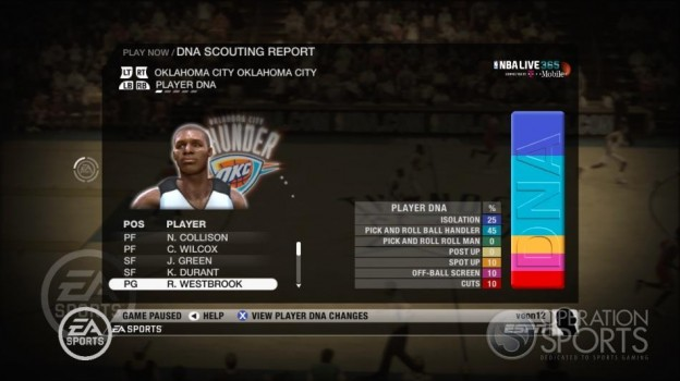 NBA Live 09 Screenshot #198 for Xbox 360