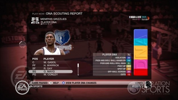 NBA Live 09 Screenshot #209 for Xbox 360