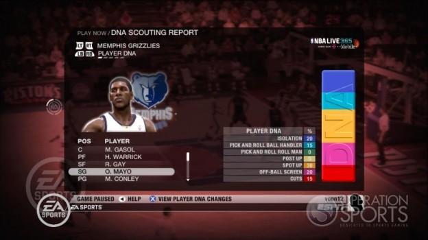 NBA Live 09 Screenshot #209 for Xbox 360