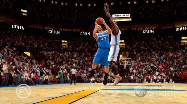 NBA Live 09 Screenshot #210 for Xbox 360
