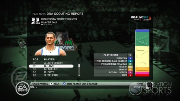 NBA Live 09 Screenshot #213 for Xbox 360