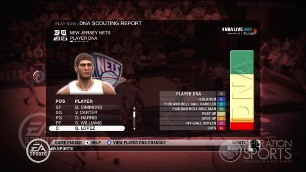 NBA Live 09 Screenshot #214 for Xbox 360