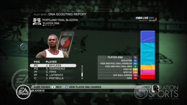 NBA Live 09 Screenshot #220 for Xbox 360