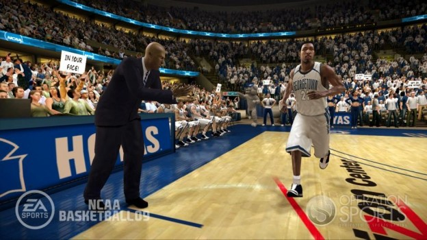 NCAA Basketball 09 Screenshot #8 for Xbox 360