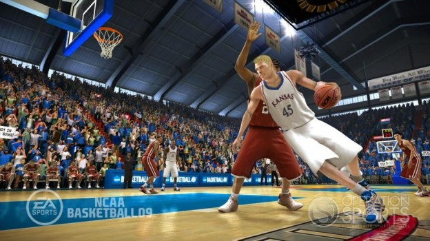 NCAA Basketball 09 Screenshot #9 for Xbox 360