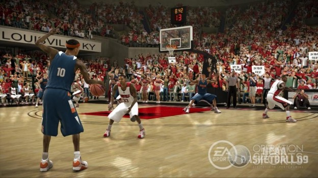 NCAA Basketball 09 Screenshot #10 for Xbox 360