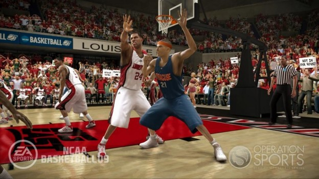 NCAA Basketball 09 Screenshot #11 for Xbox 360