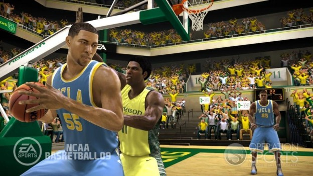 NCAA Basketball 09 Screenshot #12 for Xbox 360