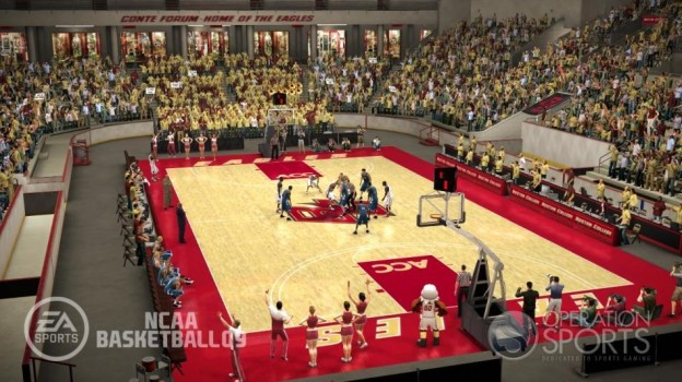 NCAA Basketball 09 Screenshot #13 for Xbox 360