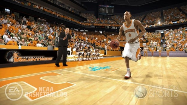 NCAA Basketball 09 Screenshot #15 for Xbox 360