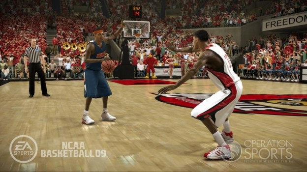 NCAA Basketball 09 Screenshot #17 for Xbox 360