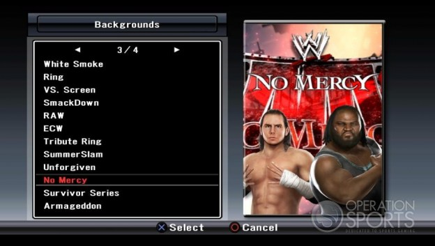WWE Smackdown! vs. Raw 2009 Screenshot #33 for PS3